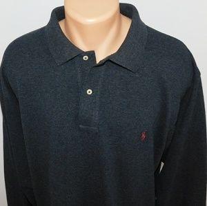Polo Ralph Lauren long sleeve polo shirt. XLT